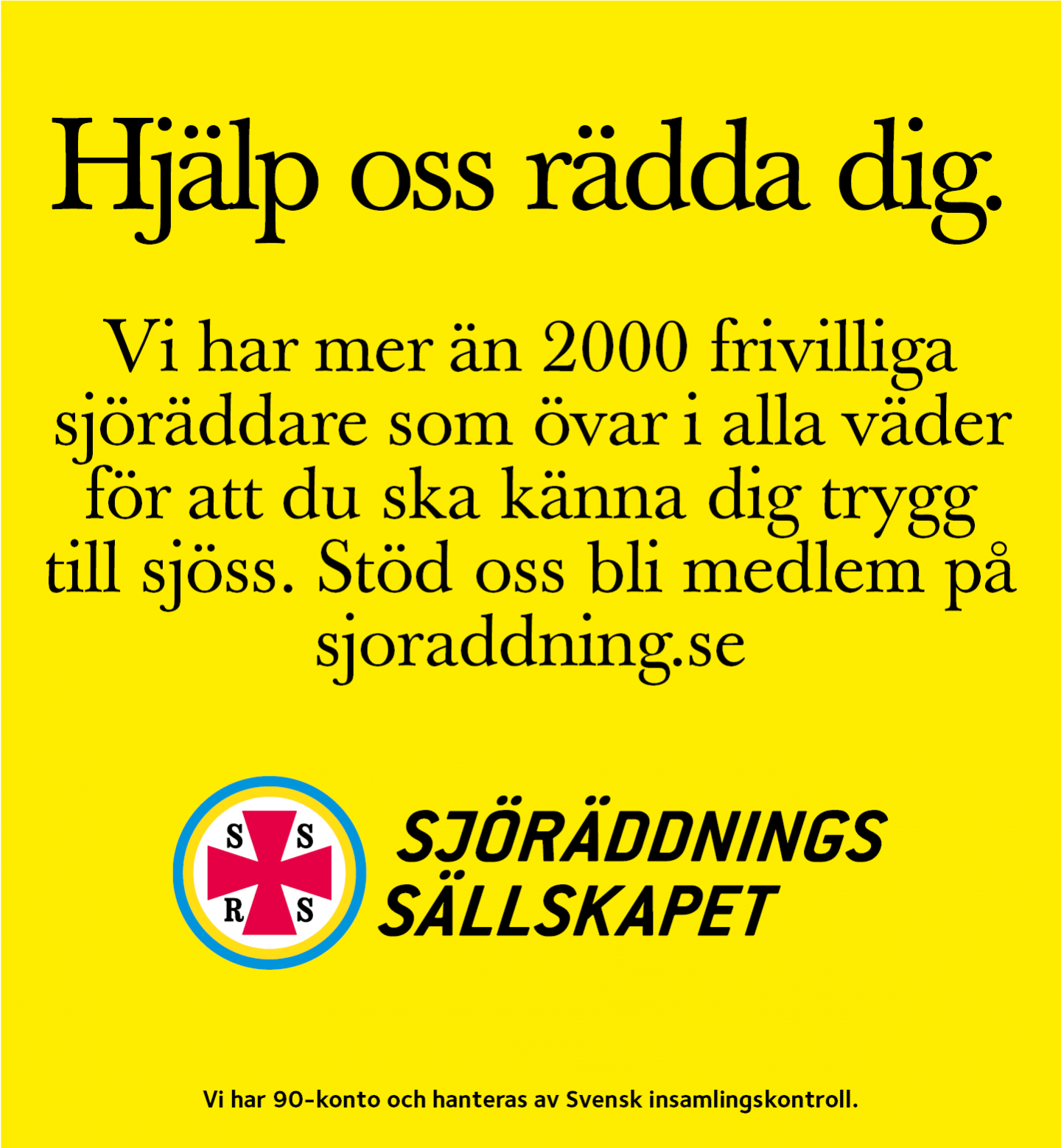 Banner Sjöräddningssällskapet